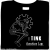 Steampunk Mashup – The Thinker + I Think Therefore I am