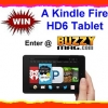 Win A Kindle Fire HD 6 Tablet – Day 8 of BuzzyMag 12 Days of GiveAways