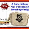 Win A Supernatural Anti-Possession Symbol Messenger Bag – Day 3 BuzzyMag 12 Days of GiveAways 2014