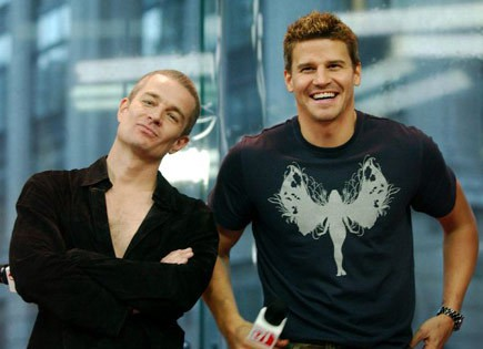 james marsters, angel, david boreanaz