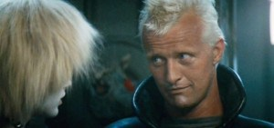 Roy Batty, from the movie Blade Runner and the book Do Androids Dream Of Electric Sheep? Rutger Hauer