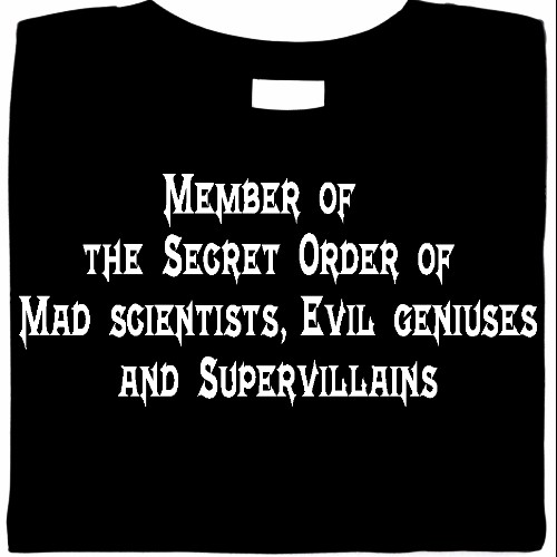 supervillains shirt, funny villain shirt, mad nerdy shirts