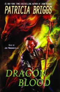 dragon blood, patricia briggs, joe manganiello audiobook, hurog, buzzy multimedia audiobooks