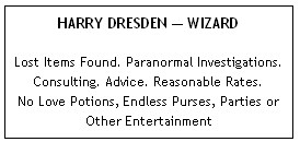 The Dresden Files, Harry Dresden