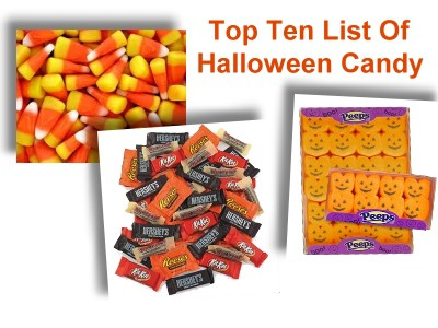 Top Ten List Of Halloween Candy