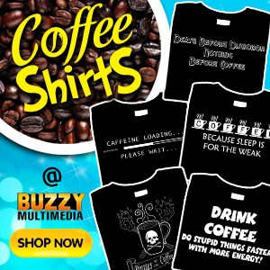 coffee shirts, funny coffee shirts