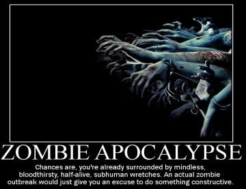 Doomsday Preppers, zombie apocalypse