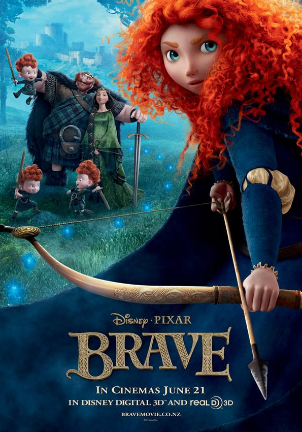 Brave - Disney - Movie Review