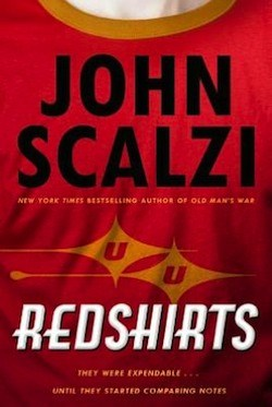 Redshirts: A Novel with Three Codas, book review, John Scalzi