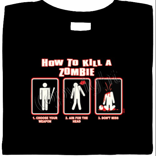 zombie t shirts