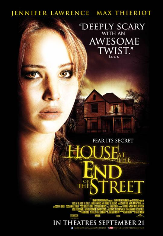 House at the End of the Street -  Movie Review