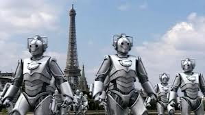 Cybermen, borg, Dr. Who, Dr Who Characters