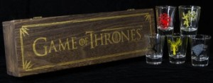 Game of Thrones House Sigil Shot Glasses
