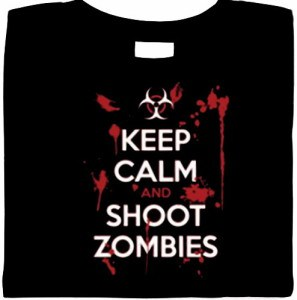 zombie shirt, funny keep calm shirts