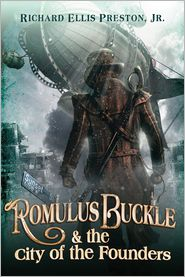 Romulus Buckle & the city of founders, sci fi book reviews, best sci fi books