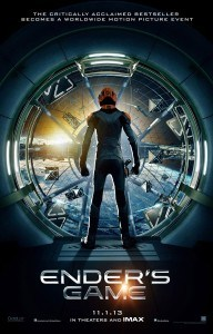 Ender's Game, Ender's Game Movie Review, Harrison Ford, Abigail Breslin