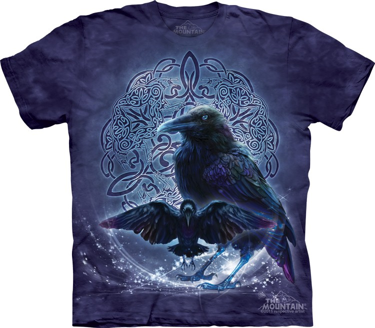 Celtic Raven Monuntain Shirt