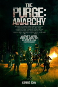 The Purge: Anarchy, The Purge, The new Purge Movie