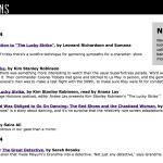 Strange Horizons, science fiction writing, Niall Harrison