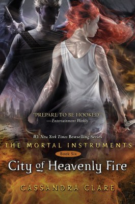 City of Heavenly Fire Book Cover