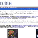 The Magazine of Fantasy & Science Fiction , sfsite.com