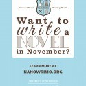 Nanomrino, nano month, national novel writing month