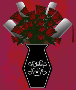 goth valentine, bloody valentine, romance
