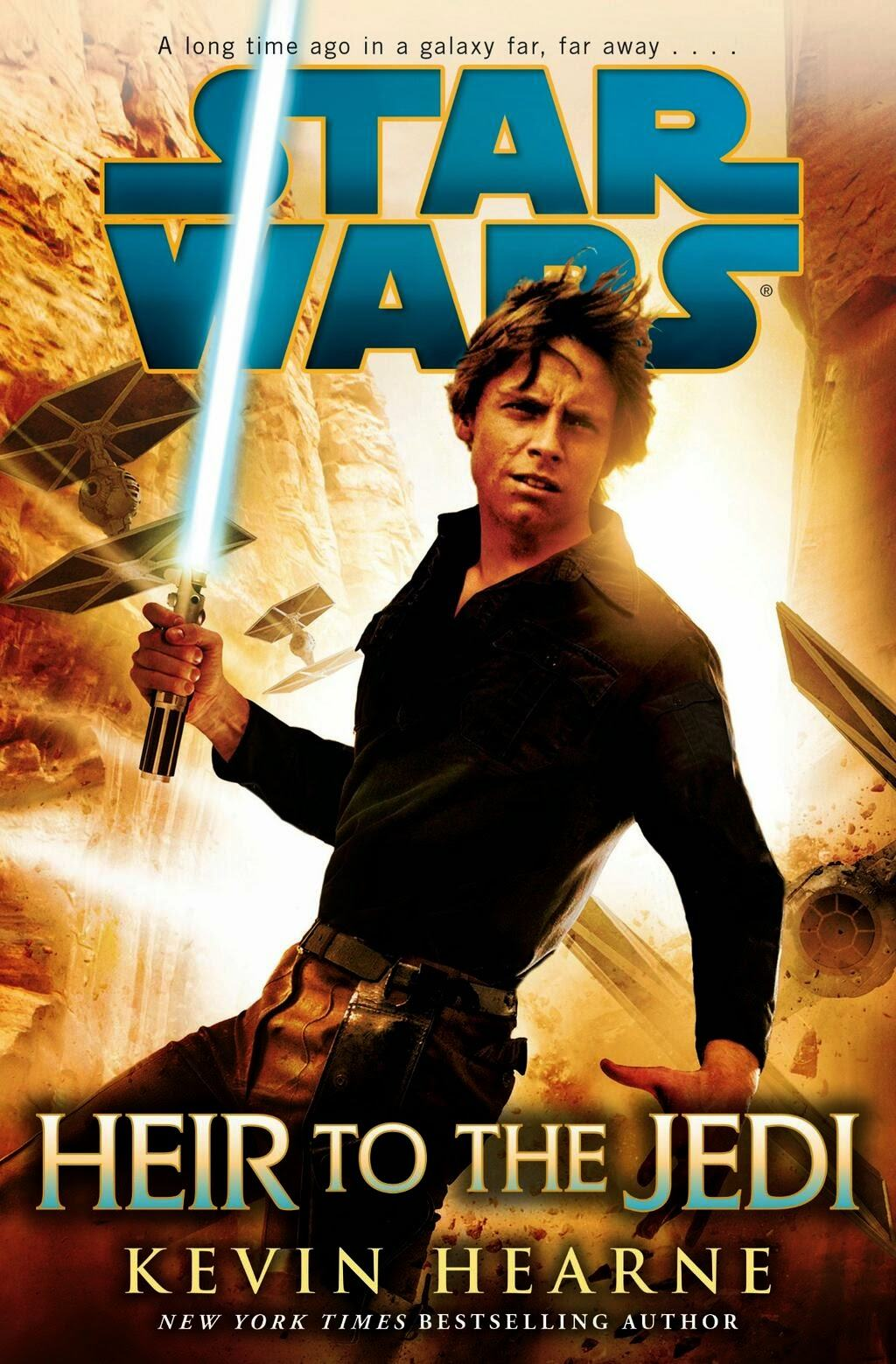 Star Wars: Heir to the Jedi Book Cover