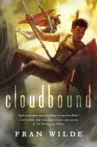 cloudbound, updraft, fran wilde, science fiction books