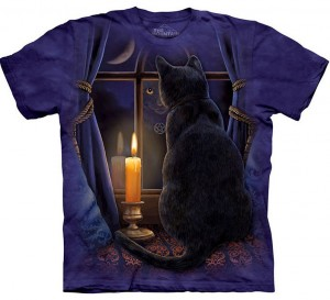 Midnight Vigil Cat Shirt