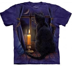 Midnight Vigil Cat Shirt