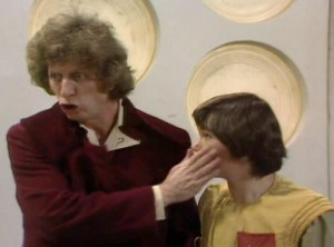 matthew waterhouse, tom baker, doctor who classic
