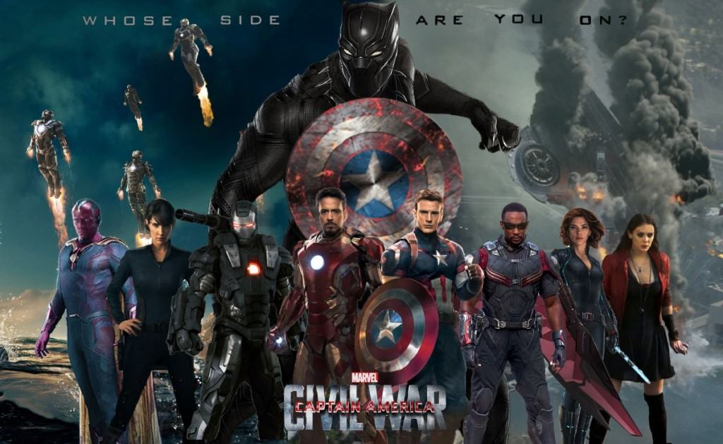 captain america civil war review, movie characters