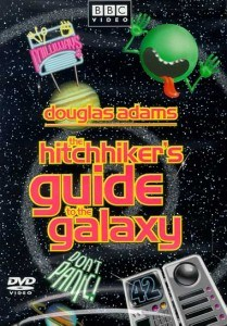 the hitchhikers guide to the galaxy, 1981, bbc, best scifi shows