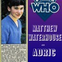 matthew waterhouse, doctor who, adric