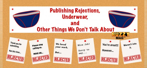 publishing rejections, rejection letters, publishing