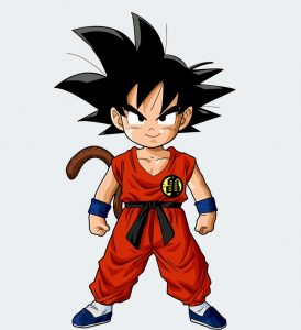 dragon ball, kid goku, early anime