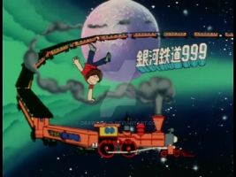 galaxy-express-999, early anime