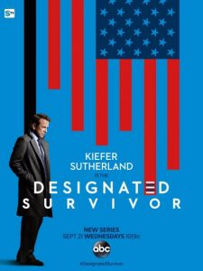 designated survivor, kiefer sutherland