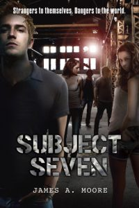 subject seven series, subject seven book one, james a moore