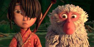 kubo and monkey, kubo and the two strings, american anime