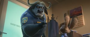 zootopia, chief of police, chief bogo, american anime