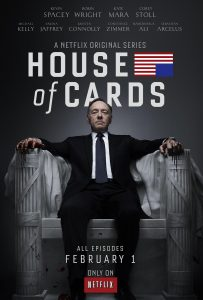 shows like game of thrones, house of cards, political drama netflix, kevin spacey, robin wright
