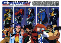 fighter g gundam, 90s anime