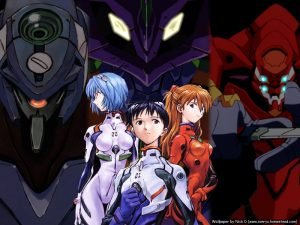 neon genesis evangelion, 90s anime, retro anime cartoons