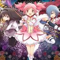 Puella magi madoka magica, 90s anime cartoon, girl anime