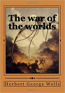 herbert george wells, the war of the worlds original cover, the Massacre of mankind review