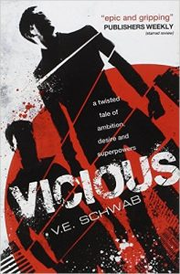 vicious book, victoria schwab