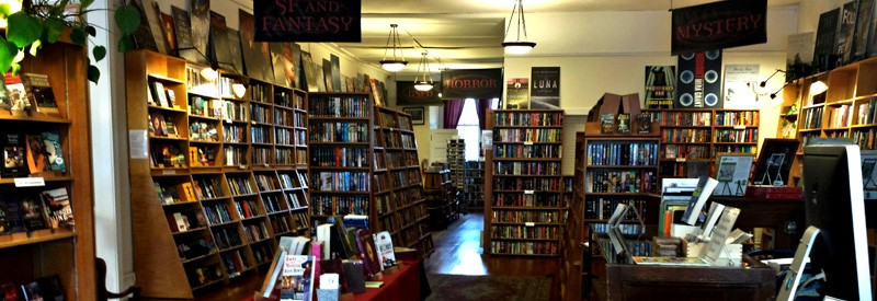 borderlands books, san francisco science fiction book stores