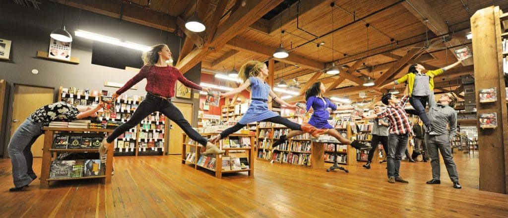 the elliott bay book company, seattle science fiction book stores
